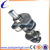 Trucks casting crankshaft for Mitsubishi 4D334D34