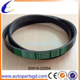 pvc belt for toyota vios with competitive price oem90916-02654