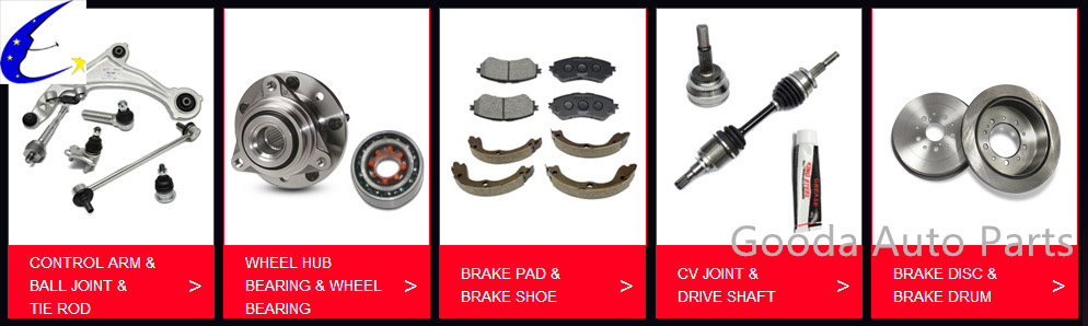 China Gooda Auto Parts Main products